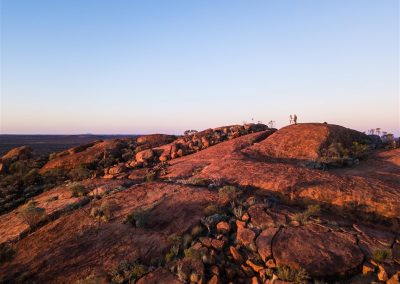 RoadToTheRock-WooleenRockSunset-DJI_0078credit @RobMulally and @GeorgiaRickard